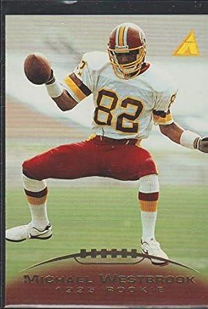 608b1096 Amazon.com: 1995 Pinnacle Michael Westbrook Redskins Rookie Football ...