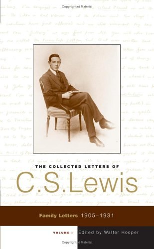 Download The Collected Letters of C. S. Lewis: Family Letters 1905 - 1931 (Volume 1) pdf epub