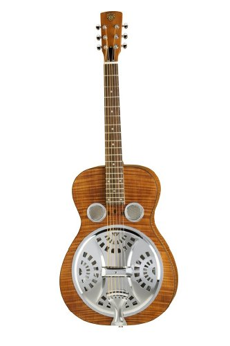 Epiphone Dobro Hound Dog Deluxe Round Neck Acoustic / Electric Resonator Guitar
