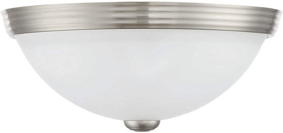 Savoy House 6-780-11-SN Two Light Flush Mount, 11