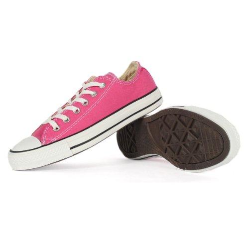 Carmine Rose - Converse Chuck Taylor All Star Lo Top Carmine Rose Canvas Shoes 137254F Mens 9/ womens 11