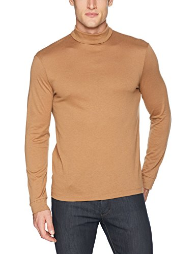 - Theory Men's Air Cashmere Turtle Neck, Desert, M