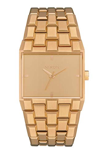 NIXON Ticket A1263 - All Gold - 51M Water Resistant Men's Analog Fashion Watch (34mm Watch Face, 30mm-23mm Stainless Steel Band) 30 Mm Driver Unit