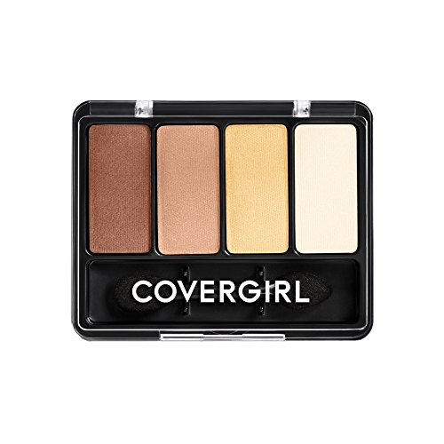 Cover Girl Color Match (COVERGIRL Eye Enhancers 4-Kit Eye Shadow Coffee Shop, .19 oz)