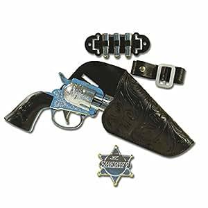 Cowboy Gun Set Child (single) (accesorio de disfraz)