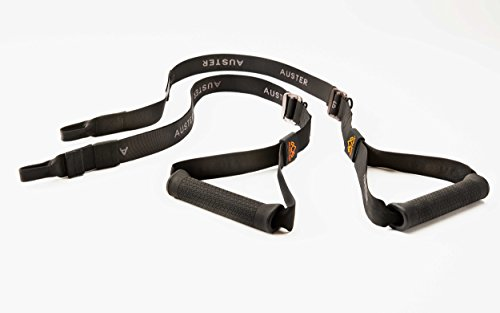 THE TRAVELLER - the next evolution in bodyweight training for a full body workout anywhere. Includes Power Straps, Dynamic Bands and Main Anchor by AUSTER