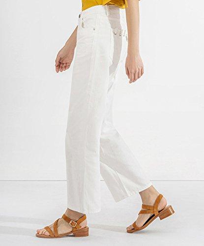 basso 37 da Pantofole Sandali tacco moda DHG Tacchi con piatti Albicocca a Sandali Sandali estivi alti casual donna alla tacco basso qOwWgRnW