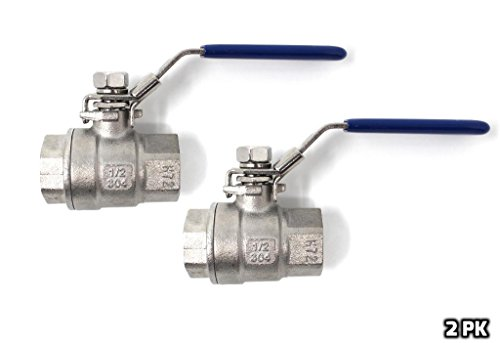 (Concord 1/2 Full 304 Stainless Steel Full Port Ball Valve Kettle Spigot (2))