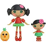 Lalaloopsy Mini Littles Mango Tiki Wiki and Kiwi Tiki Wiki Doll