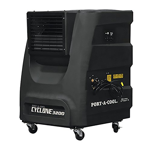 Portacool PACCYC04 Cyclone 3200 Evaporative Cooler, 3000 CFM
