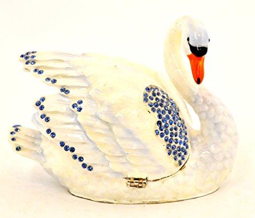 (Ciel Collectables 1013281A Swan Trinket Box, 4