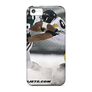 Iphone 5c YSM23681CXoS Provide Private Custom HD New York Jets Pictures Shock Absorption Hard Phone Cases -no1cases