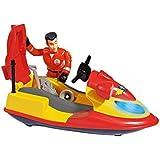 Simba Fireman Sam - Juno Jet Ski with Figurine
