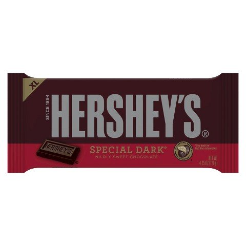 Hershey's Special Dark Mildly Sweet Chocolate 4.25 oz