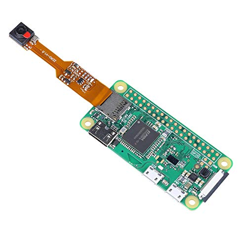 Raspberry Pi Zero W Camera 5MP Mini Size Webcam for Raspberry Pi Zero V1.3 Support 1080p30 720p60 and 640x480 Video Record
