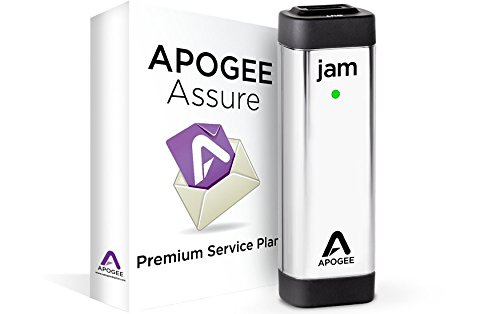 JAM 96k Professional Quality USB Guitar input for iPad, iPhone and Mac with 3 Year Apogee Assure Premium Service Plan