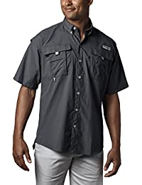 Men's PFG Bahama II Short Sleeve Breathable Fishing Shirt
