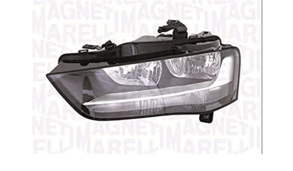 Amazon Com Halogen Headlight Front Lamp Left Fits Audi A4