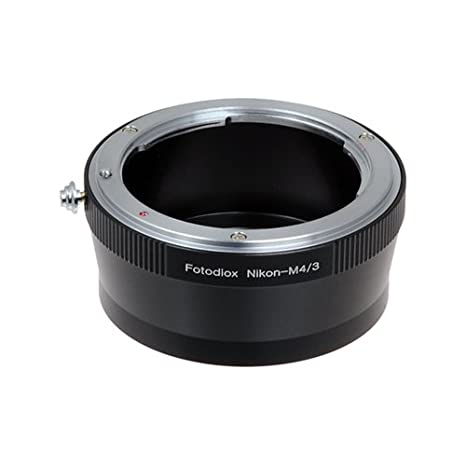 Fotodiox Lens Mount Adapter - Nikon Nikkor F Mount D/SLR Lens to Micro Four  Thirds (MFT, M4/3) Mount Mirrorless Camera Body