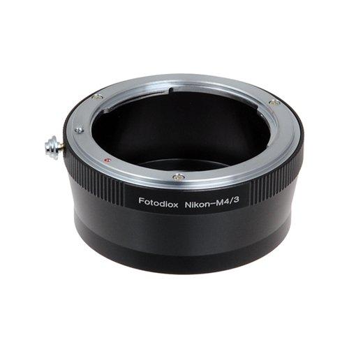 Fotodiox Lens Mount Adapter - Nikon Nikkor F Mount D/SLR Lens to Micro Four Thirds (MFT, M4/3) Mount Mirrorless Camera ()