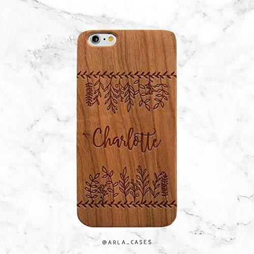 Amazon Com Custom Name Quote On Wood Phone Case Boho Iphone Case