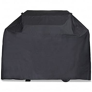 LiBa Gas Grill Cover, Barbeque Grill Covers Weber, Holland, Jenn Air, Brinkmann, Char Broil, Medium, 58
