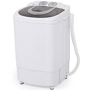 TAVLAR Mini Portable Washing Machine Spin Wash 8.8Lbs Capacity Compact Laundry Washer