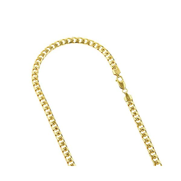 Luxurman-14k-White-or-Yellow-Gold-Miami-Cuban-Link-Solid-Chain-Necklace-with-Lobster-Claw-Clasp-5mm-Wide