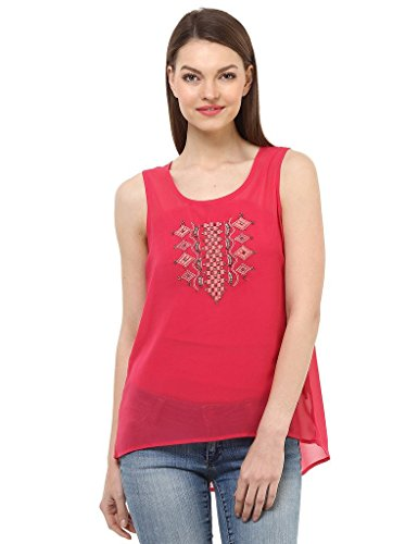 Oxolloxo Women Pink Party Top