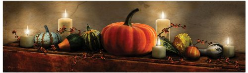 Ohio Wholesale Radiance Lighted Harvest Display Canvas Wall Art, from our Harvest Collection, 10' high x 34' long x 3/4' deep