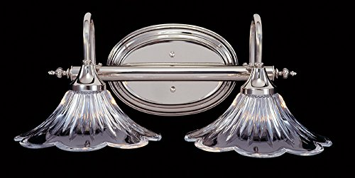 Framburg 8732 PS 2-Light Geneva Sconce, Polished Silver ()
