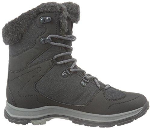 Black 6350 Jack High Wolfskin Rise Bay Women's Texapore Mid Hiking W Boots Thunder Black Phantom 6Pr6x0U
