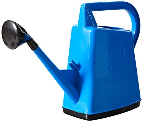 Bosmere Plastic Outdoor Watering Can, 2.6-Gallon, Blue