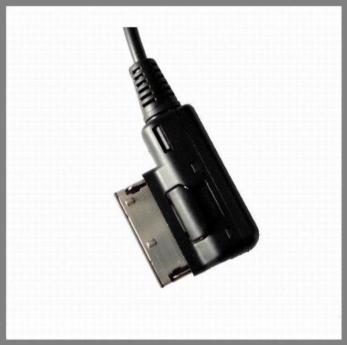 Vw Jetta GTI GLI Jetta Passat Cc Tiguan Touareg EOS Xtenzi XT-4F0051510C MDI AMI MMI Cable Adapter Connect Ipod Iphone Mini 3.5mm to Audi A4 A5 S5 A6 A8 Q7