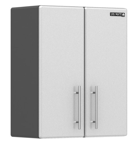Ulti-MATE Storage 2-Door Wall Cabinet in Starfire Pearl - GA-09SW -Strong 3/4