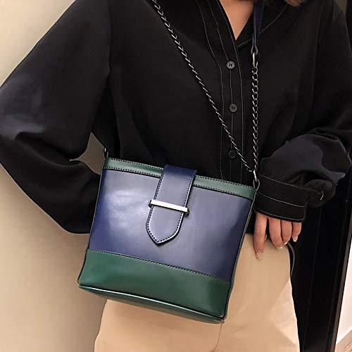 Xmy Sac À Sauvage Messenger Bandoulière Bleu Fashion Seau Femme FSqHwFr