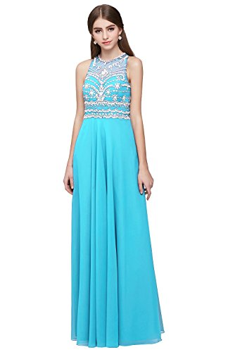 Vickyben Prom Dress Royal Blue Floor Length 2015