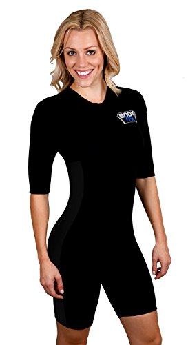 Sauna Suit Neoprene Weight Loss Gym Sport Aerobic Boxing MMA 13930 (X-Large, Black)