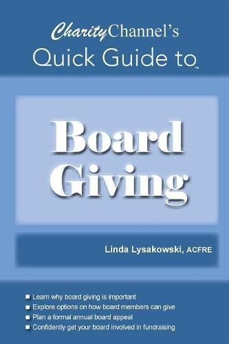 CharityChannel's Quick Guide to Board Giving