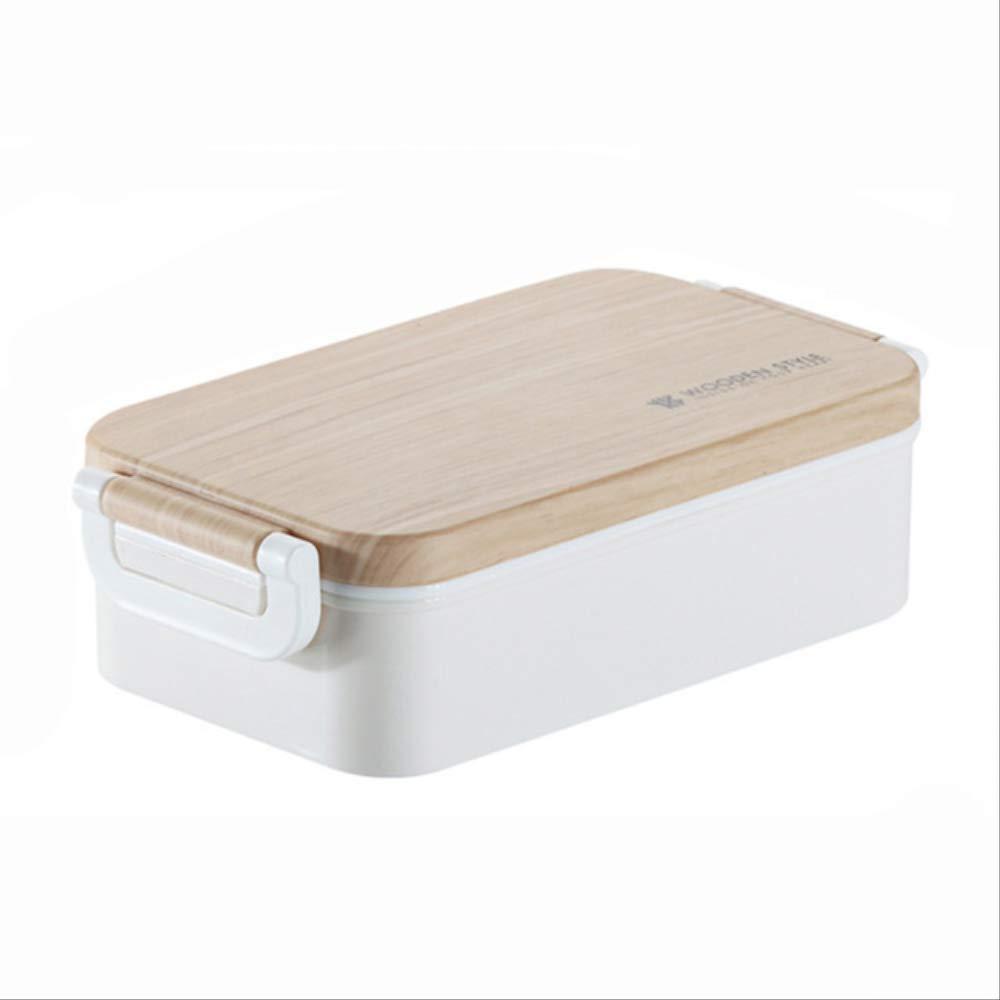 AQBHEDKO Japanese Lunch Box Ensalada de Madera Bento Box Portable ...