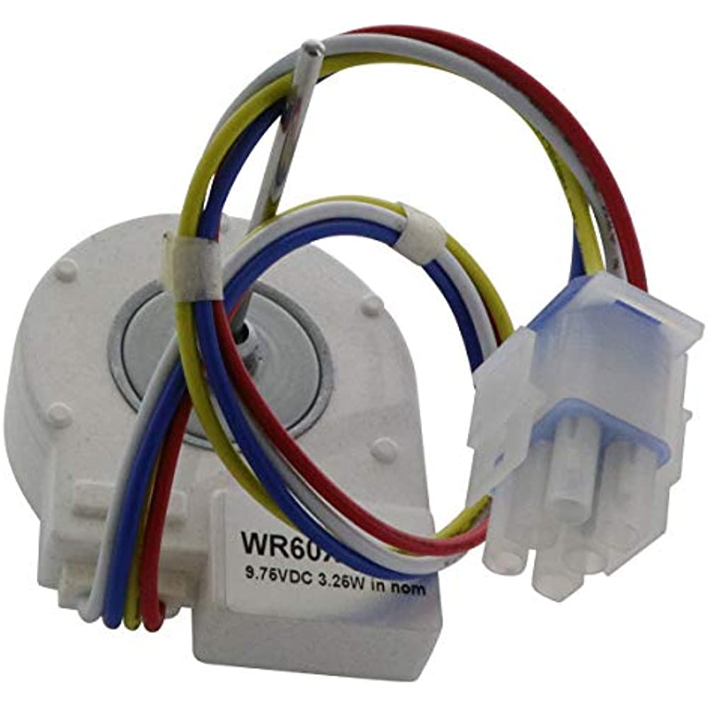 WR60X10185 Refrigerator /& Freezers DC Evaporator Fan Motor Replacement Part for General Electric PS1019114 AP3875639,WR23X10346 Hotpoint Refrigerators Replaces 1170107