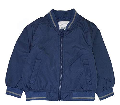 Infant Navy Blue Light - Carter's Baby Boys' Infant Light-Weight Bomber Jacket, Navy, 24M