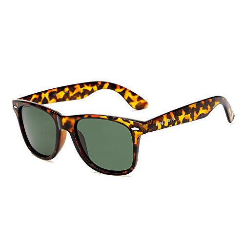 LongKeeper Polarized Sunglasses Classic Square Women Men Driving Glasses ()