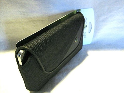 Belt Clip Oem Cellular Accessory (Ecolife Hydro XX-Large Black Horizontal Holster Pouch W/Fixed Belt Clip Fits Verizon / AT&T / Sprint / T-Mobile / U.S. Cellular Samsung Galaxy S6)