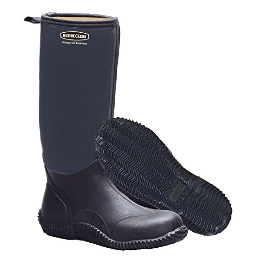 Mudruckers Tall Boots 9 Black