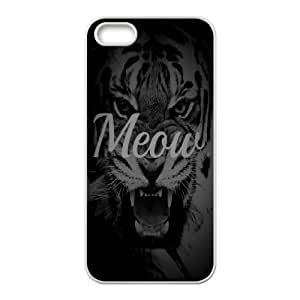 Case For HTC One M7 Cover Case Meow, Case For HTC One M7 Cover Case Typography, [White]