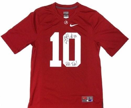 A.J. McCarron Autographed Jersey - Nike NCAA Roll - Autographed College Jerseys Radtke Sports