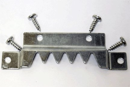 Extra Super Heavy Duty Super Sawtooth Hanger With Screws (2 Pack)