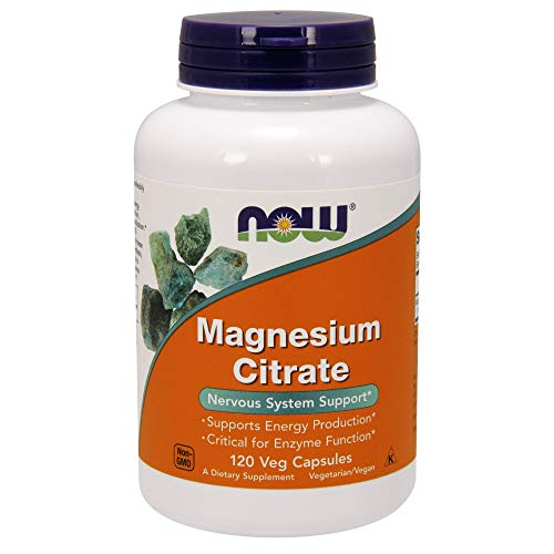 NOW Magnesium Citrate, 400 Milligram