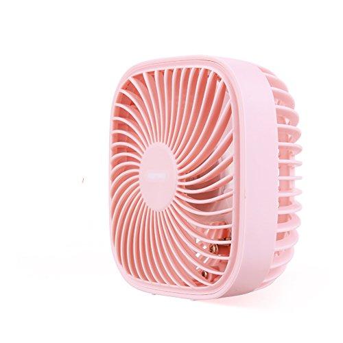 GLJ Small Fan Usb Plug Mini Office Small Fan Ultra Quiet Desktop Fan fan (Color : 3) by GLJ